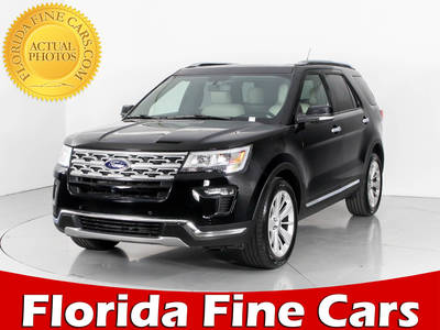 Used FORD EXPLORER 2018 WEST PALM LIMITED