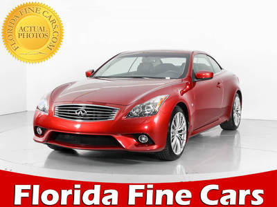 Used INFINITI Q60 2014 WEST PALM Sport