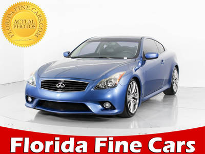 Used INFINITI G37 2012 WEST PALM Sport