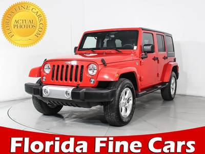 Used JEEP WRANGLER-UNLIMITED 2015 MIAMI SAHARA