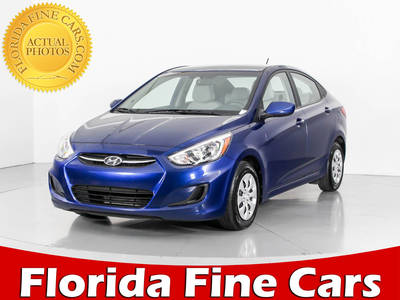 Used HYUNDAI ACCENT 2017 WEST PALM SE