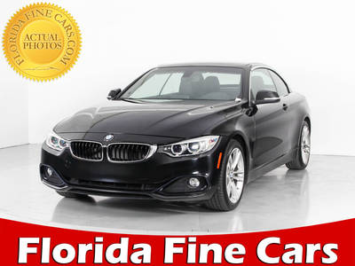 Used BMW 4-SERIES 2017 WEST PALM 430i Sport