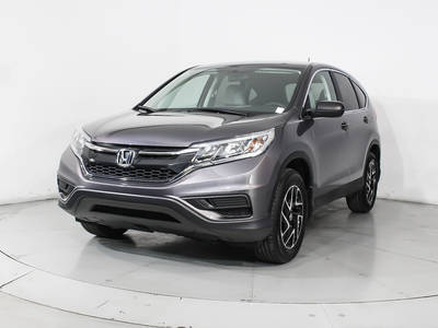 Used HONDA CR-V 2016 HOLLYWOOD SE