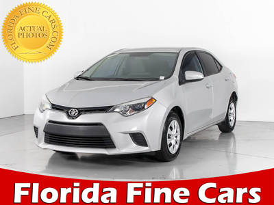 Used TOYOTA COROLLA 2016 WEST PALM L