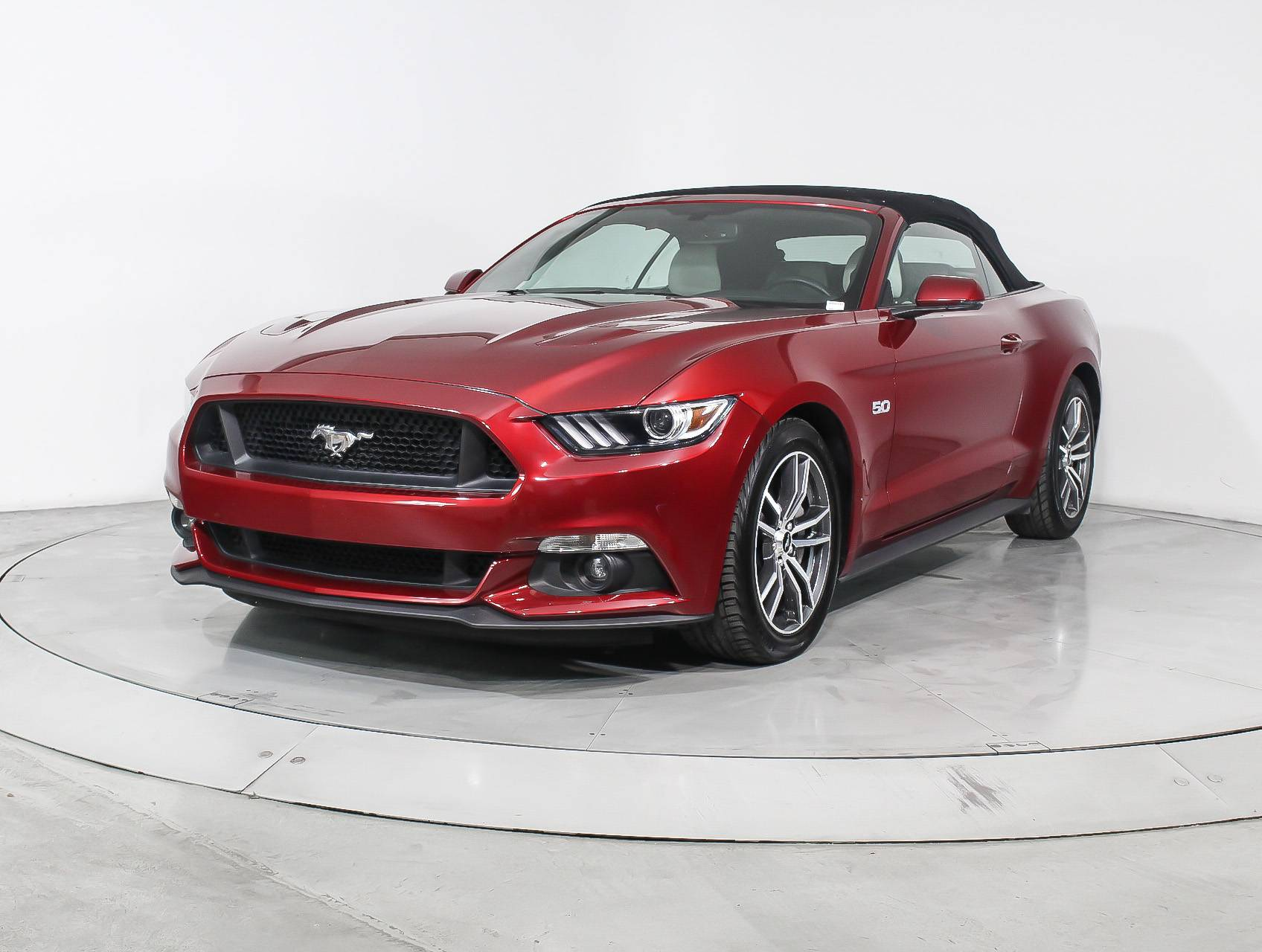 Used 2017 ford mustang gt premium convertible for sale in hollywood