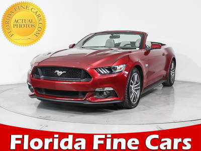 Used FORD MUSTANG 2017 HOLLYWOOD GT