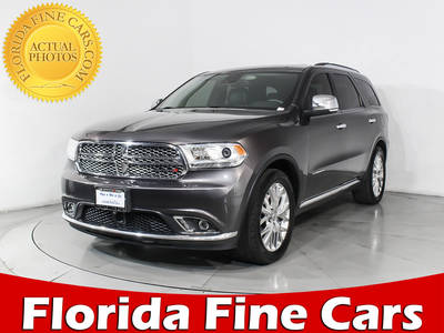 Used DODGE DURANGO 2014 MIAMI Citadel