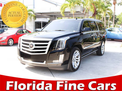 Used CADILLAC ESCALADE-ESV 2015 WEST PALM PREMIUM