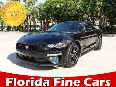 Used FORD MUSTANG 2018 WEST PALM ECOBOOST