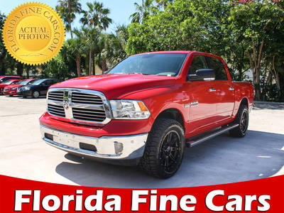 Used RAM 1500 2016 MARGATE Slt Big Horn 4x4