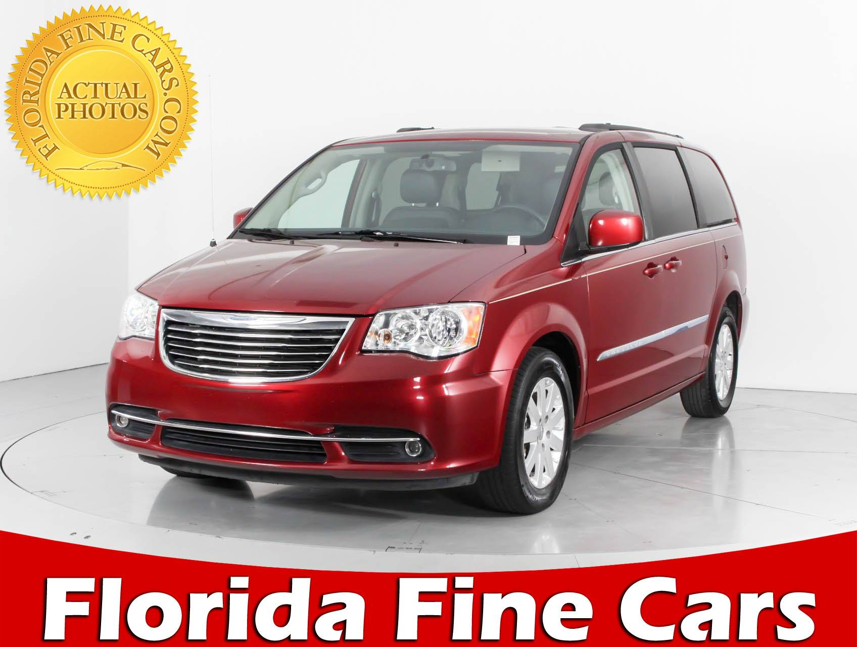 Used 2015 Chrysler Town Country Touring Minivan For Sale In Miami And Fl 95961 Florida Fine Cars