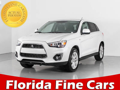Used MITSUBISHI OUTLANDER-SPORT 2014 WEST PALM SE