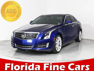 Used CADILLAC ATS 2013 MIAMI PERFORMANCE