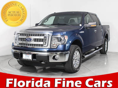 Used FORD F-150 2014 HOLLYWOOD Xlt Supercrew 4x4