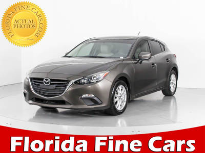 Used MAZDA MAZDA3 2014 WEST PALM i-touring
