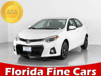 Used TOYOTA COROLLA 2015 WEST PALM S Plus