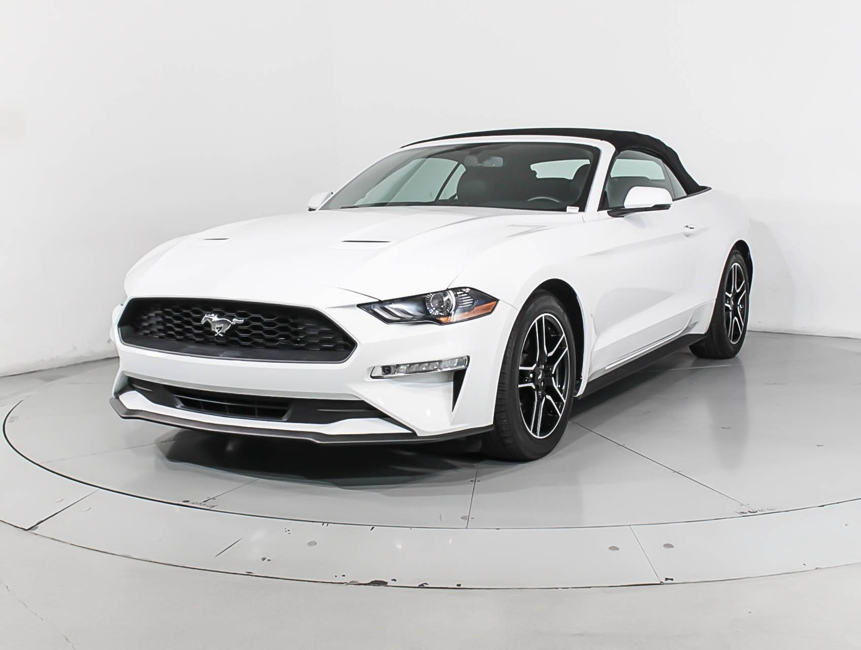Used 2018 ford mustang ecoboost premium convertible for sale in
