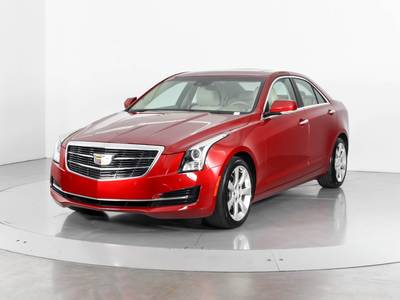 Used CADILLAC ATS 2015 WEST PALM LUXURY