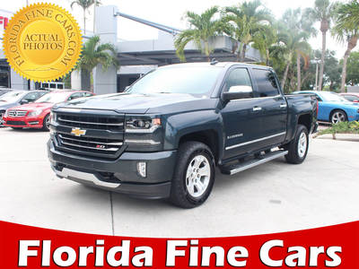 Used CHEVROLET SILVERADO 2017 WEST PALM Ltz Z71