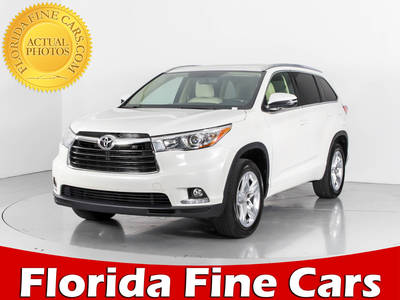 Used TOYOTA HIGHLANDER 2015 WEST PALM LIMITED