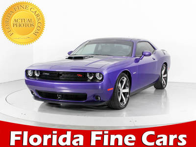Used DODGE CHALLENGER 2016 WEST PALM R/t Plus Shaker