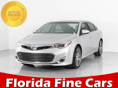 Used TOYOTA AVALON 2014 WEST PALM Xls