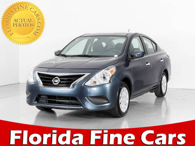 Used NISSAN VERSA 2017 WEST PALM Sv