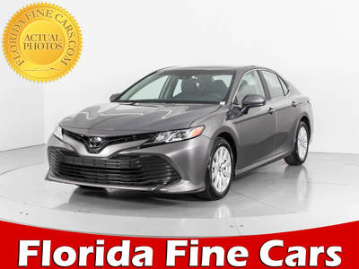 Used TOYOTA CAMRY 2018 WEST PALM Le