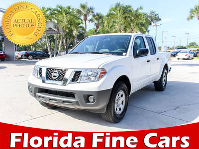 Used NISSAN FRONTIER 2015 WEST PALM S