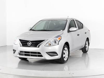 Used NISSAN VERSA 2017 WEST PALM S Plus