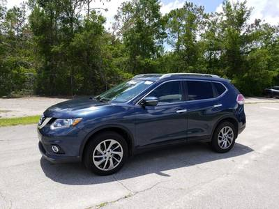 Used NISSAN ROGUE 2015 WEST PALM Sl