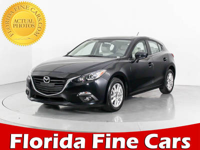 Used MAZDA MAZDA3 2016 WEST PALM i-touring