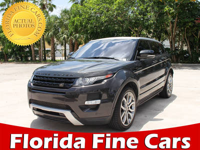 Used LAND-ROVER RANGE-ROVER-EVOQUE 2013 WEST PALM DYNAMIC PREMIUM