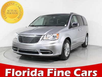 Used CHRYSLER TOWN-AND-COUNTRY 2015 MARGATE TOURING L