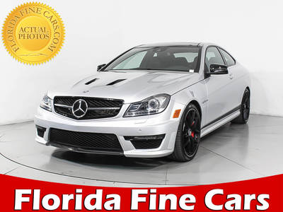 Used MERCEDES-BENZ C-CLASS 2015 MIAMI C63 Amg 507 Edition