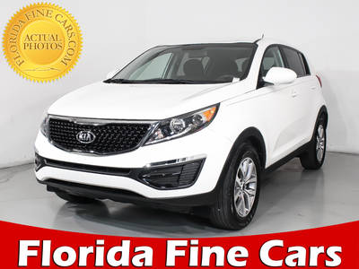 Used KIA SPORTAGE 2016 HOLLYWOOD Lx