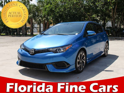 Used SCION IM 2016 MARGATE