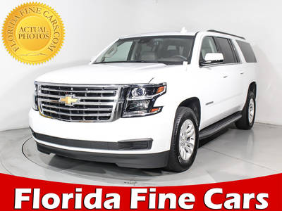 Used CHEVROLET SUBURBAN 2017 HOLLYWOOD LT