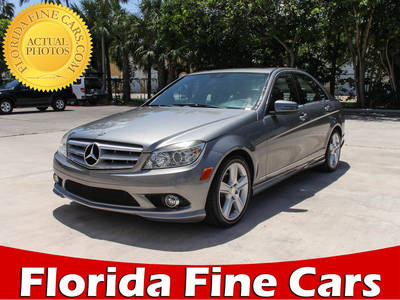 Used MERCEDES-BENZ C-CLASS 2010 WEST PALM C300