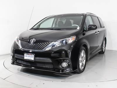 Used TOYOTA SIENNA 2014 WEST PALM SE