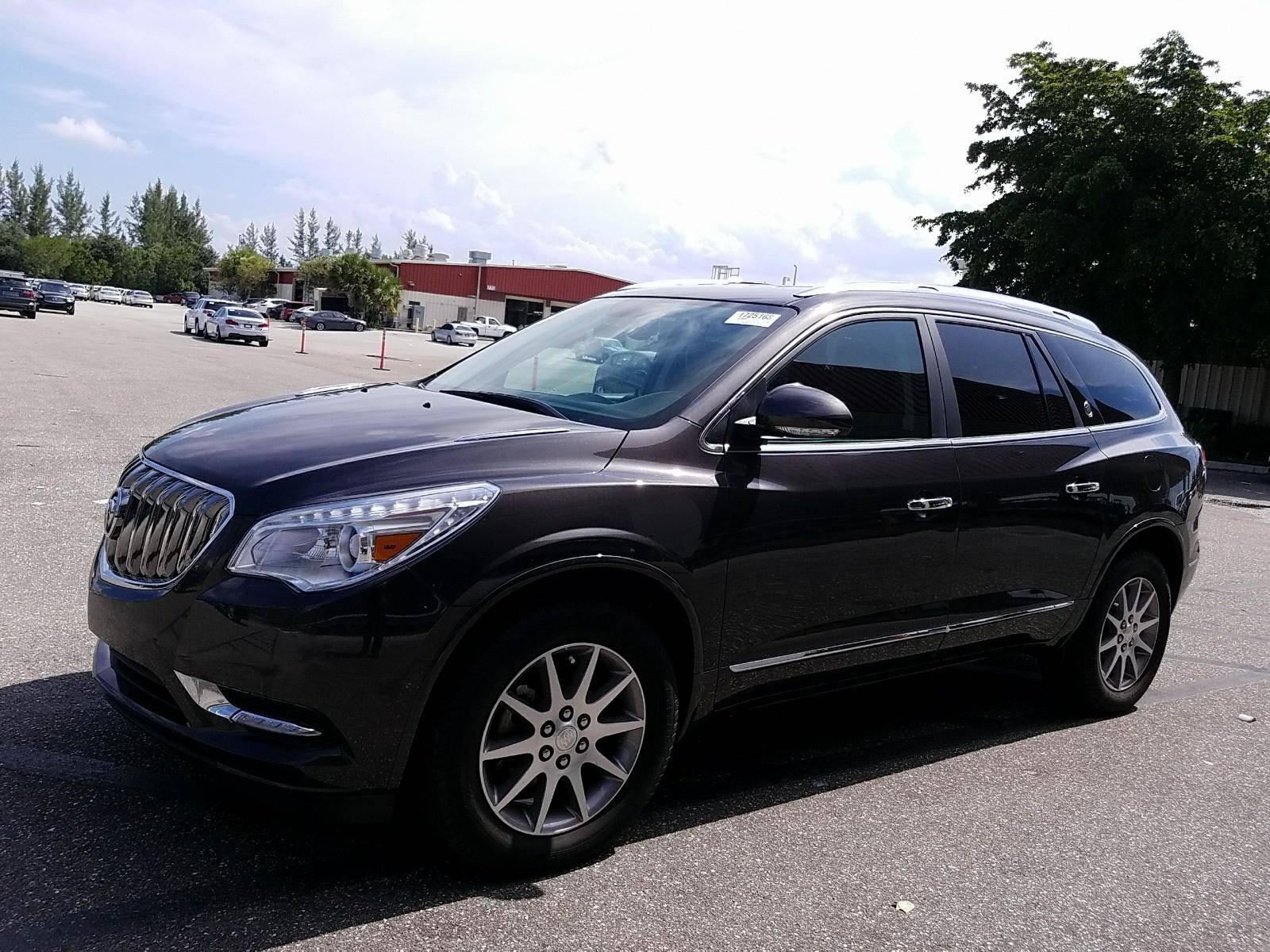 Used 2015 Buick Enclave Leather Suv For Sale In West Palm Fl 81 Subaru Gl Fuel Filter Location 96358 Florida Fine Cars
