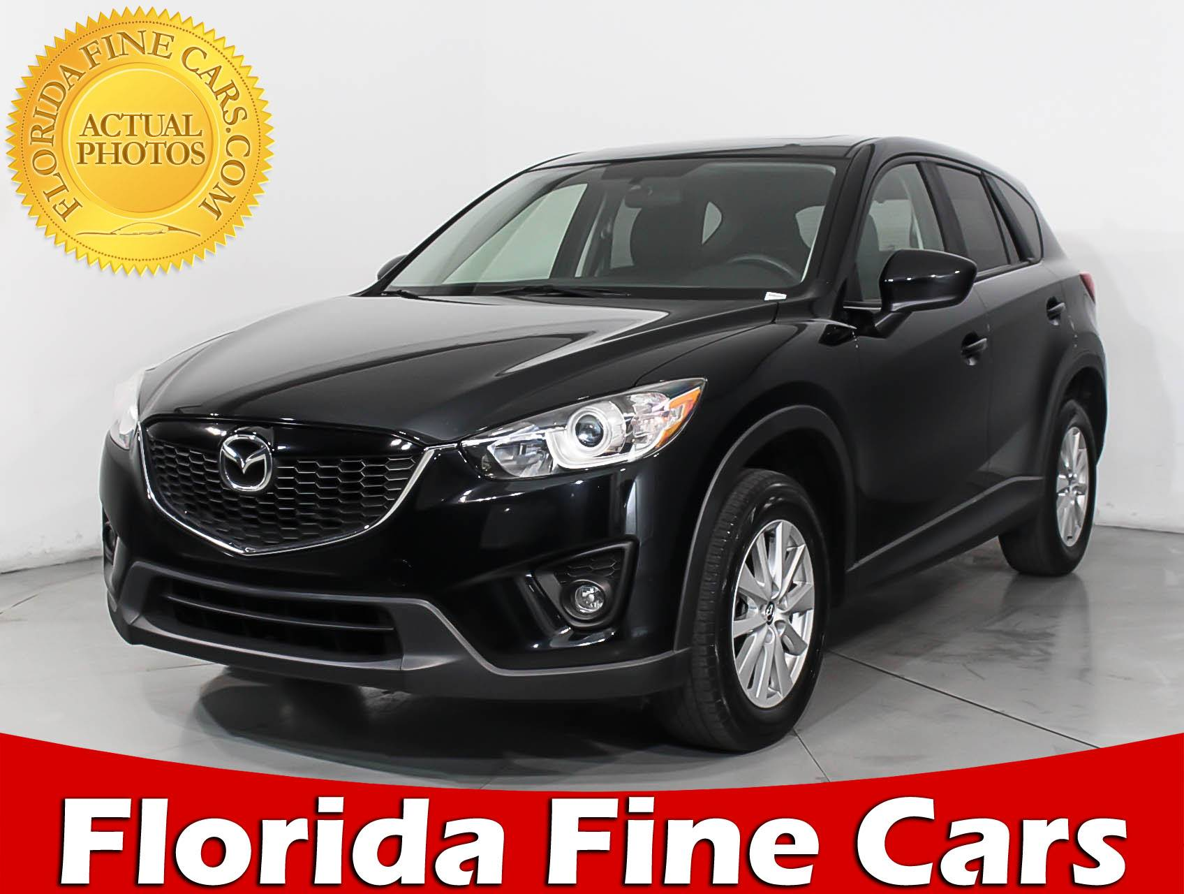Used 2014 MAZDA CX 5 TOURING SUV For Sale In HOLLYWOOD, FL | 96361 |  Florida Fine Cars