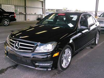 Used MERCEDES-BENZ C-CLASS 2014 WEST PALM C250