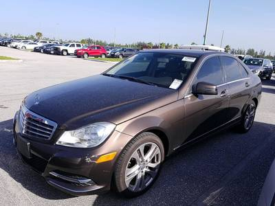 Used MERCEDES-BENZ C-CLASS 2013 WEST PALM C300 4MATIC