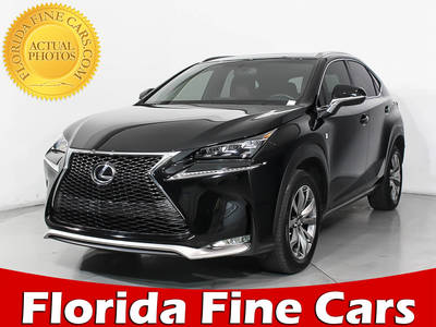 Used LEXUS NX-200T 2015 WEST PALM F Sport