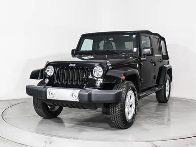 Used JEEP WRANGLER-UNLIMITED 2015 HOLLYWOOD SAHARA