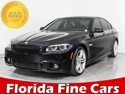 Used BMW 5-SERIES 2015 MIAMI 550i M-Sport