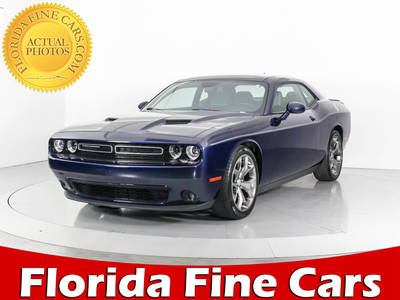 Used DODGE CHALLENGER 2015 WEST PALM SXT PLUS