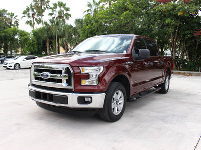 Used FORD F-150 2016 HOLLYWOOD Xlt