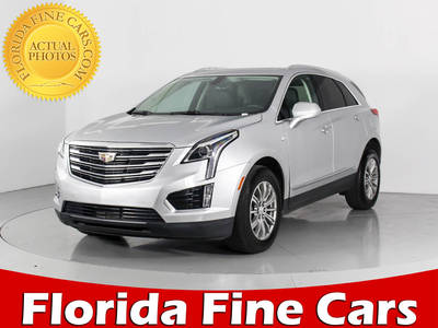 Used CADILLAC XT5 2017 WEST PALM Luxury Awd